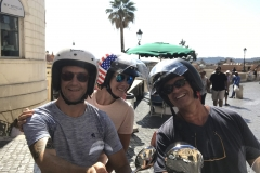 Rome. The Vespa Tour