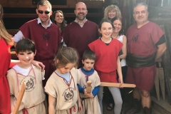 The Gladiator School in Rome