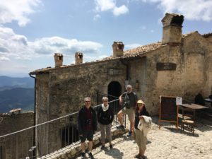 A two day stop in the beautiful mountains of the Abruzzo region